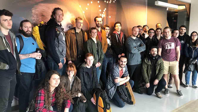 Visite du studio Framestore à Montréal