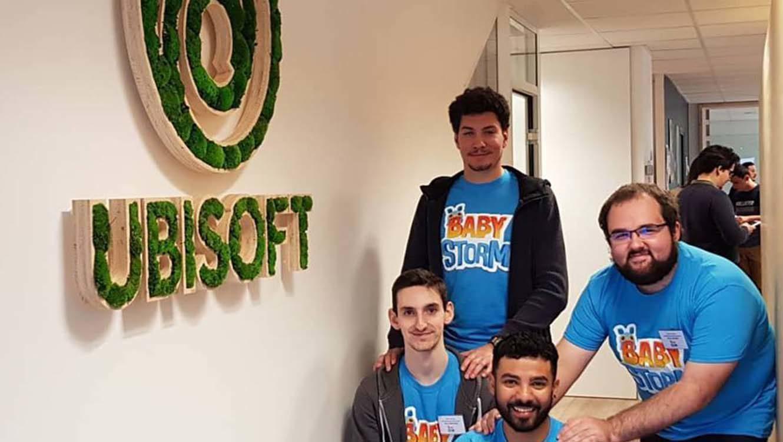 Les étudiants à Ubisoft