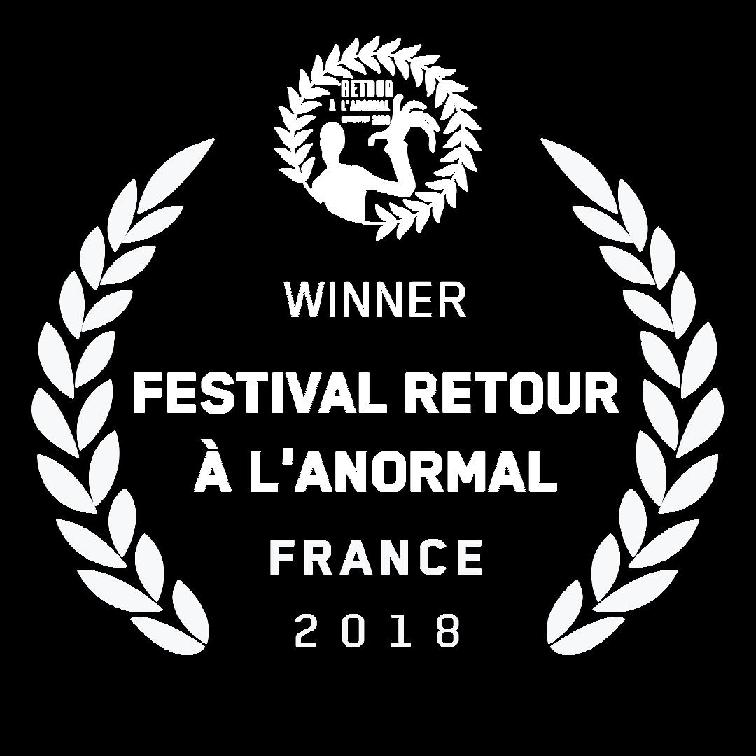 festival Retour à l'Anormal-France-2018-Winner